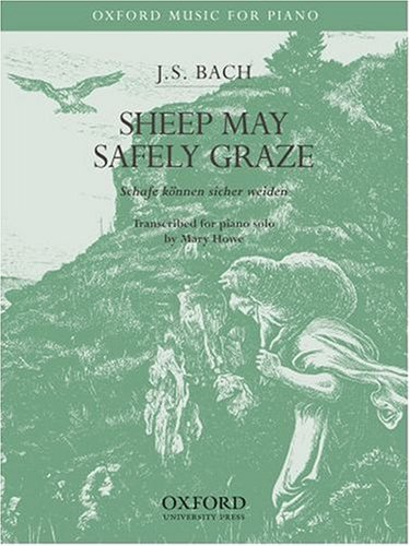 9780193870819: Sheep may safely graze: Piano solo version