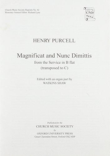 Magnificat and Nunc Dimittis from B Flat: Watkins Shaw
