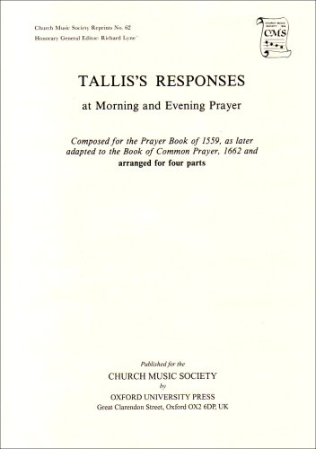 Preces and Responses (Church Music Society)