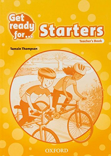 9780194000154: Get Ready for: Starters: Teacher's Book