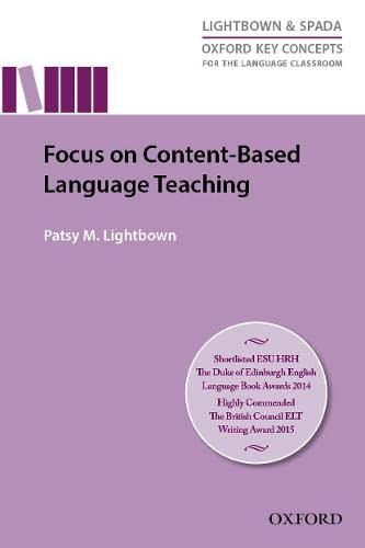9780194000826: Material de Teacher Training: Focus on Content Based Language Teaching