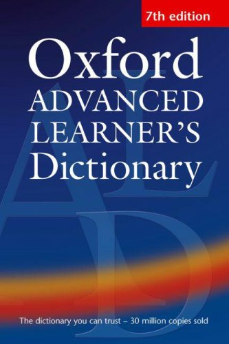 Oxford Advanced Learner's Dictionary: Albert Sydney Hornby,