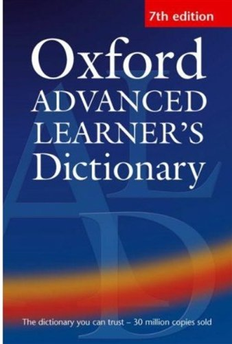 9780194001021: Hornby, A: OXFORD ADVD LEARNERS DICT O-7E: US Edition