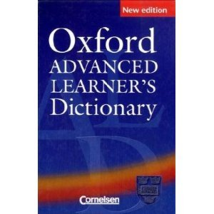 9780194001182: Oxford Advanced Learner's Dictionary of Current English