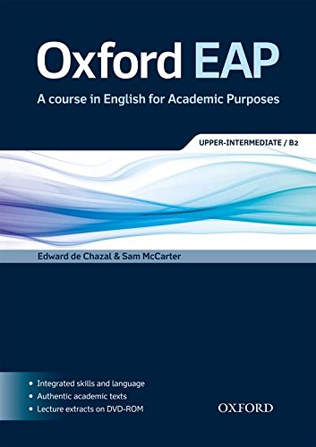 9780194001786: Oxford EAP: Oxford English for Academic Purposes Upper-Intermediate Student's Book + DVD Pack