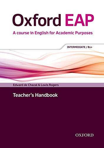 9780194002028: Oxford EAP: Intermediate/B1+: Teacher's Book, DVD and Audio CD Pack