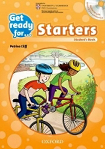 9780194003261: Get Ready for: Starters Student's Book and Audio CD Pack