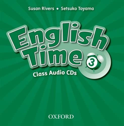9780194005319: English Time: 3: Class Audio CDs