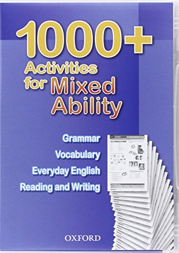 9780194005777: 1000 + Activities Mixed Ability Dvd-Rom (Oxford)