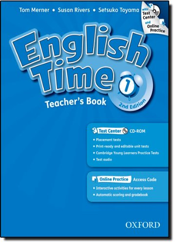 9780194005869: English Time: 1: Teacher's Book with Test Center and Online Practice