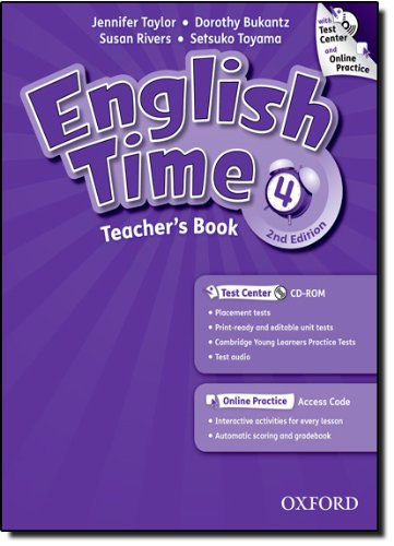 9780194005890: English Time: 4: Teacher's Book with Test Center and Online Practice