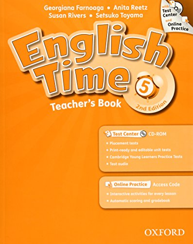 9780194005906: English Time: 5: Teacher's Book with Test Center and Online Practice