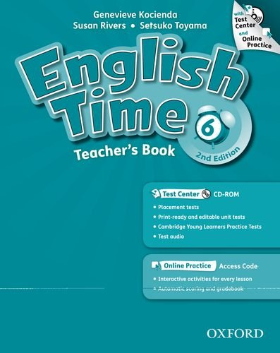 9780194005913: English Time: 6: Teacher's Book with Test Center and Online Practice