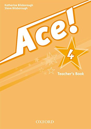 9780194006965: Ace! 4: Teacher's Book