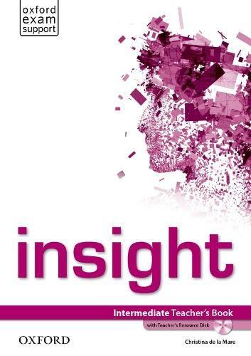 9780194010788: insight: Intermediate: Teacher's Book with Teacher's Resource Disk