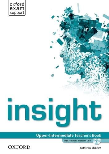 9780194010795: insight: Upper-Intermediate: Teacher's Book with Teacher's Resource Disk