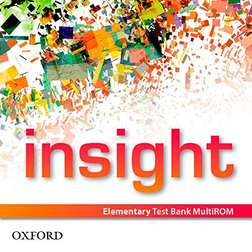insight: Elementary: Test Bank MultiROM (CD-ROM): Jayne Wildman