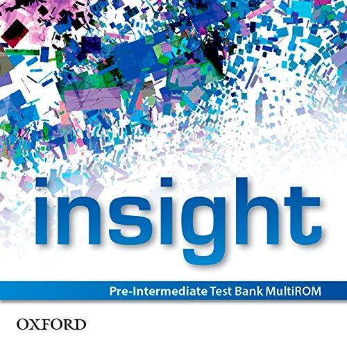 insight: Pre-Intermediate: Test Bank MultiROM (CD-ROM): Jayne Wildman