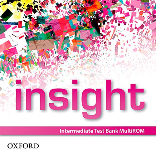 9780194010931: insight: Intermediate: Test Bank MultiROM