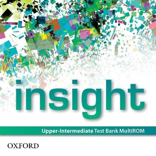 9780194010948: insight: Upper-Intermediate: Test Bank MultiROM