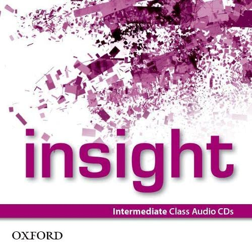 9780194010986: Insight Intermediate Class CD