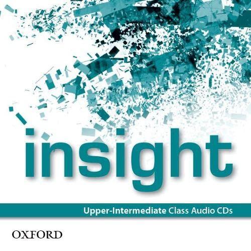 9780194010993: insight: Upper-Intermediate: Class Audio CDs