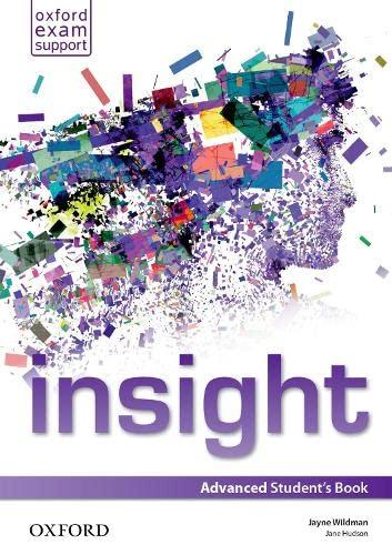 9780194011105: Insight: Advanced: Student's Book