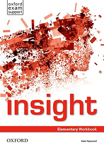 9780194011112: Insight Elementary. Workbook
