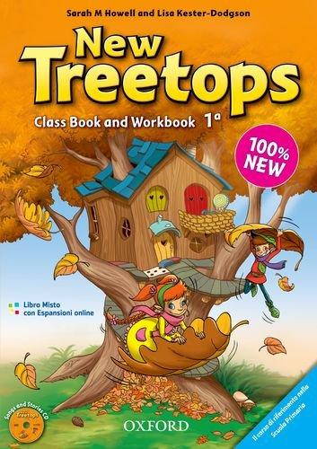 9780194012874: New treetops. Coursebook-Workbook. Con espansione online. Con CD Audio. Per la Scuola elementare: 1