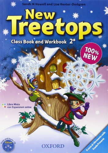 9780194012881: New treetops. Coursebook-Workbook. Per la Scuola elementare. Con espansione online: New treetops. Coursebook-Workbook. Per la Scuola ... Con espansione online [Lingua inglese]: 2