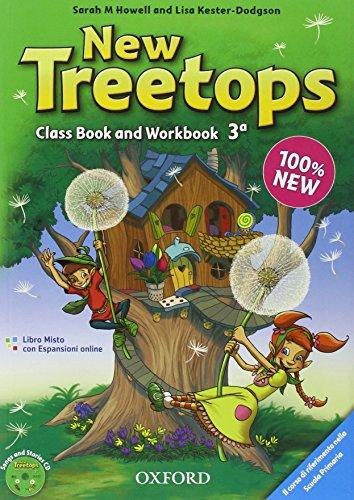 9780194012898: New treetops. Coursebook-Workbook. Per la Scuola elementare. Con CD Audio. Con espansione online: 3