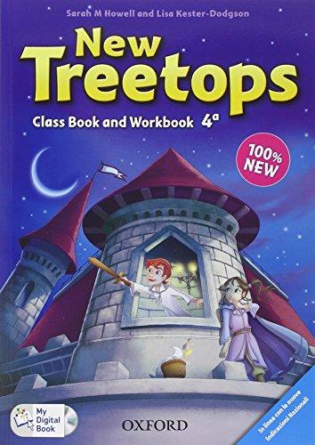 9780194012904: New treetops. Coursebook-Workbook. Con espansione online. Con CD. Per la Scuola elemenare: 4