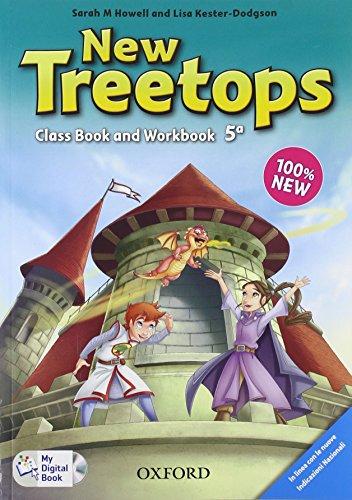 9780194012911: New treetops. Coursebook-Workbook. Per la Scuola elementare. Con CD. Con espansione online: 5