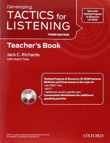 9780194013765: Tactics for Listening: Developing: Teacher's Resource Pack