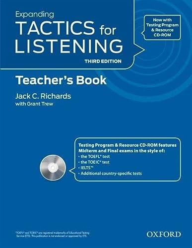 Tactics for Listening: Expanding: Teachers Resource Pack: Richards, Jack C.