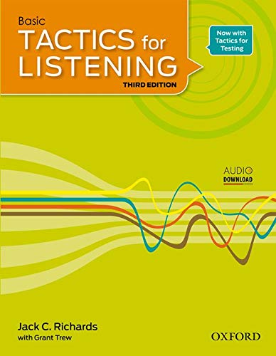 9780194013840: Tactics for Listening Basic: Student's Book