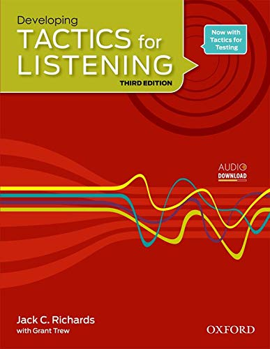 9780194013857: Developing Tactics for Listening, 3rd Edition