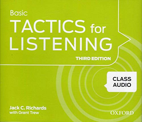 Basic Tactics for Listening, 3rd Edition: Jack C. Richards