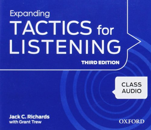 9780194013895: Expanding Tactics for Listening, Third Edition: Class Audio CDs (4)