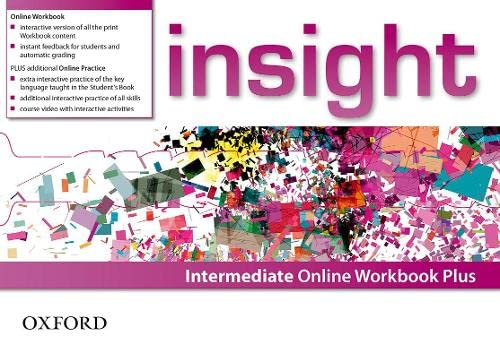 9780194015080: insight: Intermediate: Online Workbook Plus - Card with Access Code