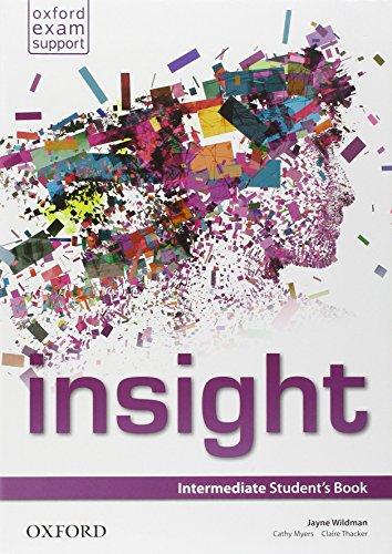 9780194015585: Insight. Intermediate. Student's book-Workbook. Con e-book. Con espansione online. Per le Scuole superiori