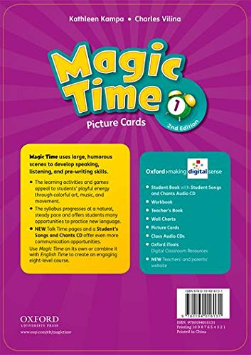 Magic Time: Level 1: Flashcards: Kampa/Vilina