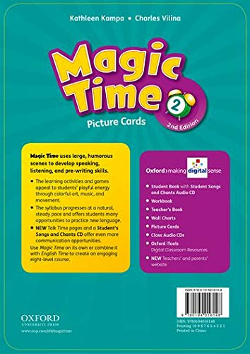9780194016148: Magic Time: Level 2: Flashcards