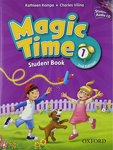 9780194016179: Magic Time: Level 1: Student Book and Audio CD Pack