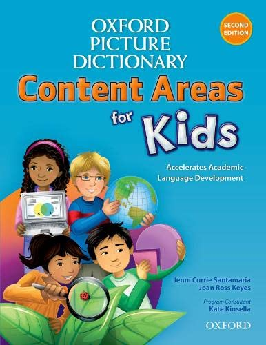 9780194017756: Oxford Picture Dictionary Content Areas for Kids: English Dictionary