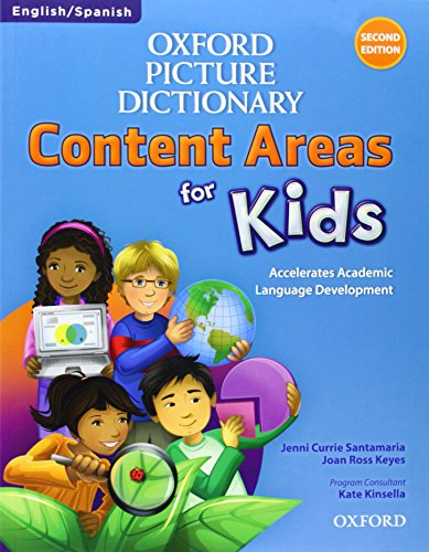 Oxford Picture Dictionary Content Area for Kids English-Spanish Dictionary