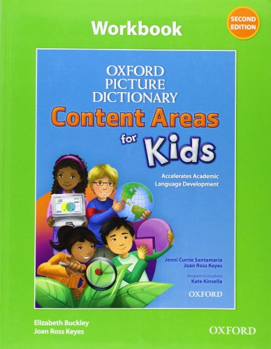 9780194017794: Oxford Picture Dictionary Content Area for Kids Workbook
