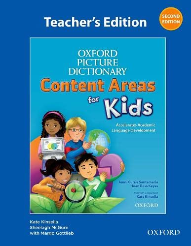 9780194017800: Oxford Picture Dictionary Content Areas for Kids: Teacher's Edition