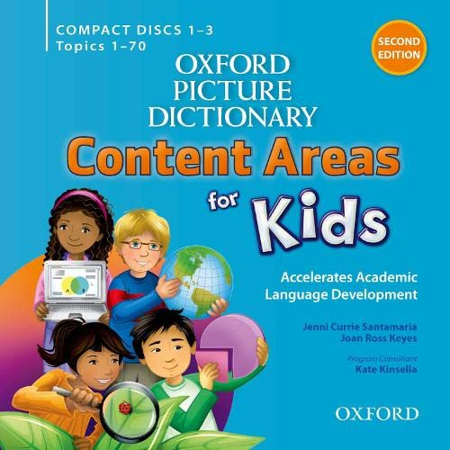 9780194017831: Oxford Picture Dictionary Content Area for Kids Classroom Audio CDs