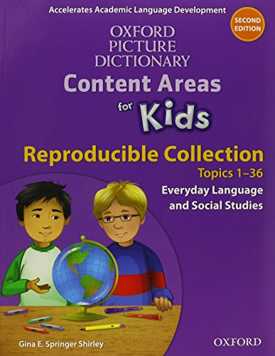 9780194017848: Oxford Picture Dictionary Content Area for Kids Reproducible Collection Pack (Oxford Picture Dictionary Content Areas for Kids)